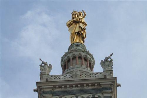 Marseille - Top of Notre Dame de la Garde