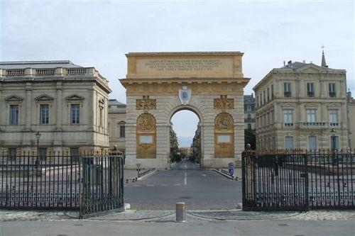 Montpellier - Arc de Triumph