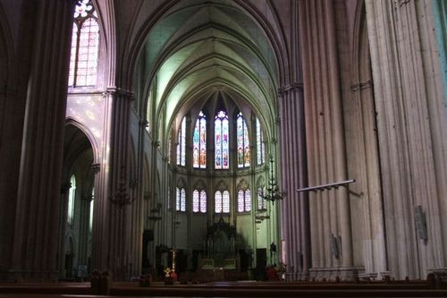 Montpellier - Inside the Cathedral