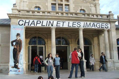 Montpellier - Charlie Chaplin exhibit
