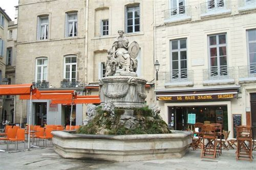 Montpellier - one of the squares I came across