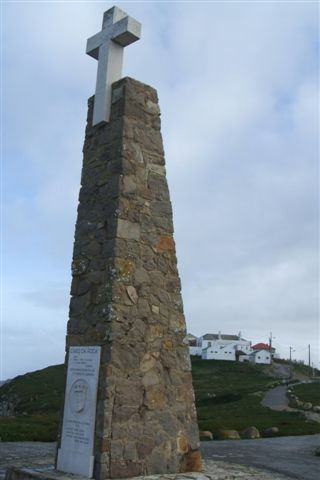 Monument at western most point