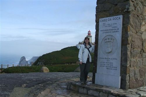 There I am at the Western most point!