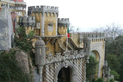 Medieval section - Pena Palace