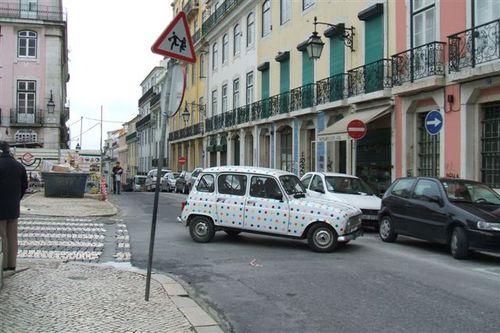 Polka Dotted Car!