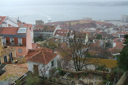 View to River Tagus from St Georges Castle
