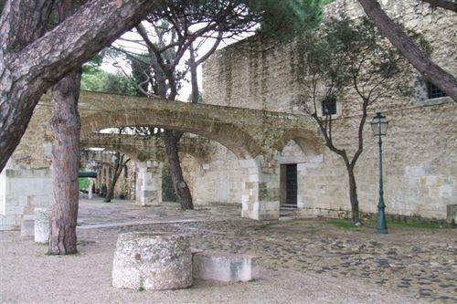 Inside St Georges Castle