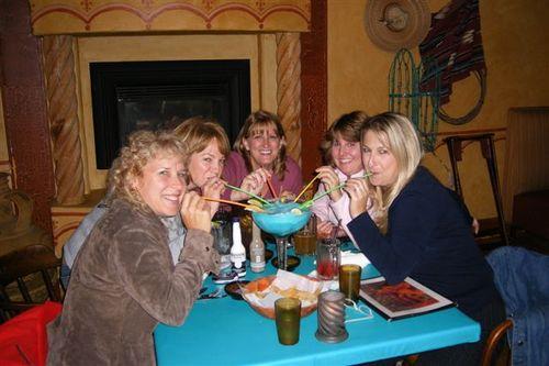 Anne, Michele, me, Lori, and Louise - Jose's Blue Sombrero